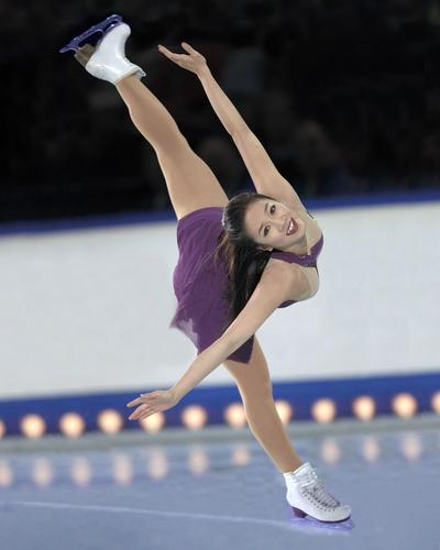 Michelle Kwan - US Olympic Figure Skater
