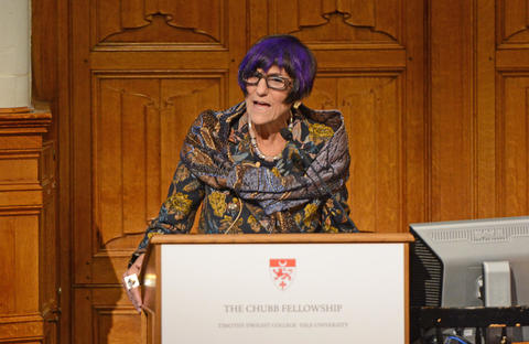 Representative Rosa DeLauro Delivers 10/24/19 Chubb Address